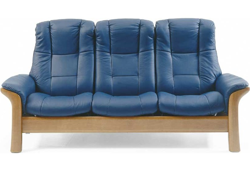 Stressless Windsor High-Back Reclining Sofa by Stressless at Dunk & Bright  Furniture