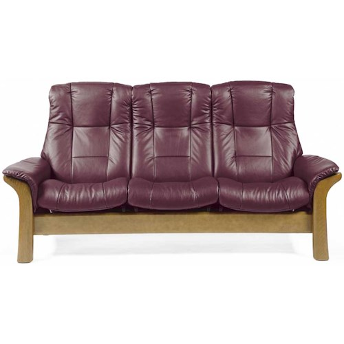 Stressless Stressless Windsor High-Back Reclining Sofa | Boulevard ...