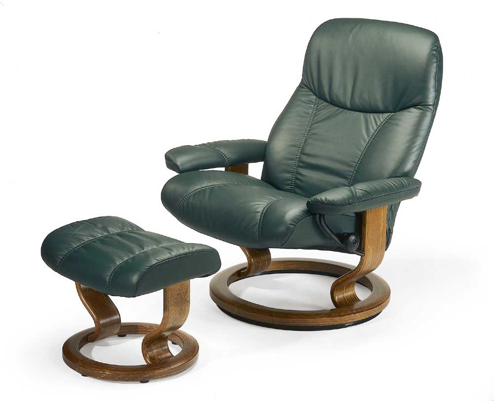 stressless by ekornes stressless recliners consul large reclining