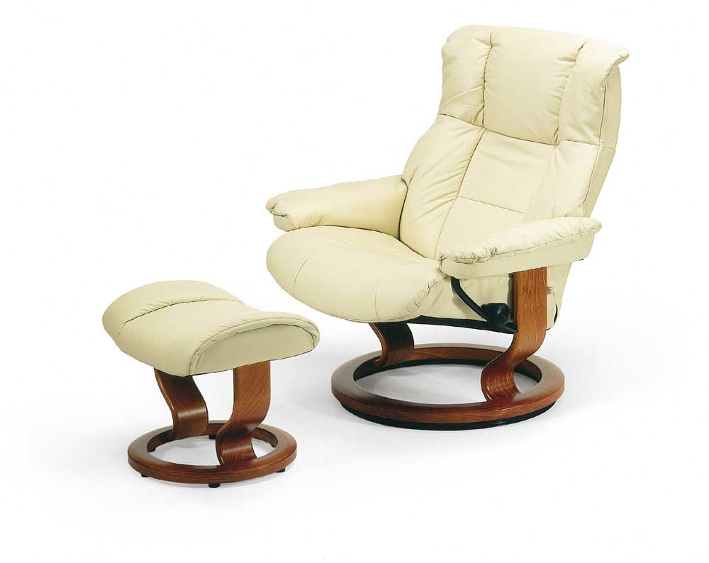 Stressless by Ekornes Stressless Recliners Mayfair Large Reclining Chair and Ottoman  sc 1 st  Rooms and Rest & Stressless by Ekornes Stressless Recliners Mayfair Large Reclining ... islam-shia.org