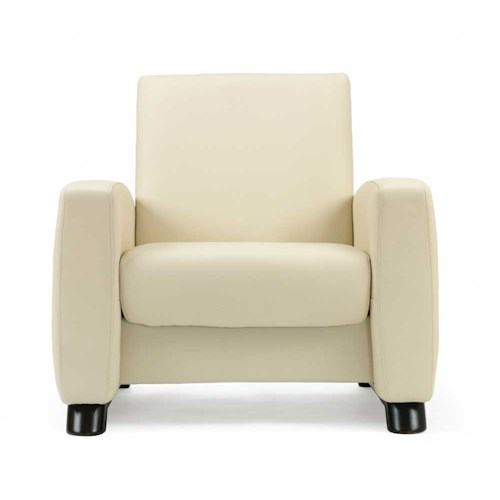 Stressless by Ekornes Stressless Arion Low Back Reclining Leather Chair