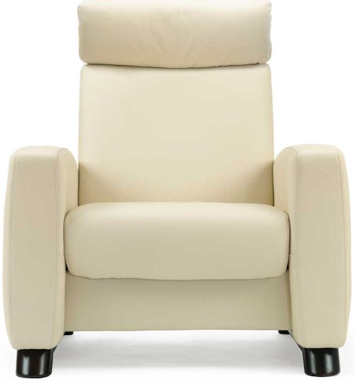 Stressless by Ekornes Stressless Arion High Back Reclining Leather Chair