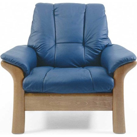 Low-Back Reclining Chair
