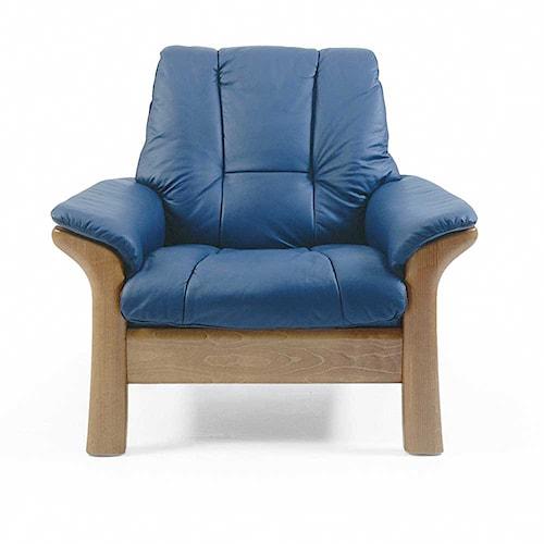 Stressless Stressless Windsor Low-Back Reclining Chair