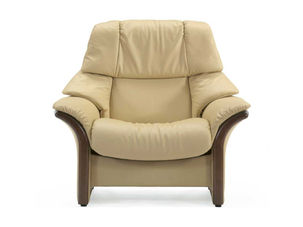 Stressless EldoradoHigh-Back Reclining Chair with Arms