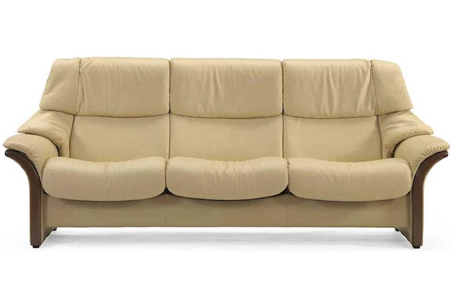 Stressless Eldorado High-Back 3-Seater Reclining Sofa with ...