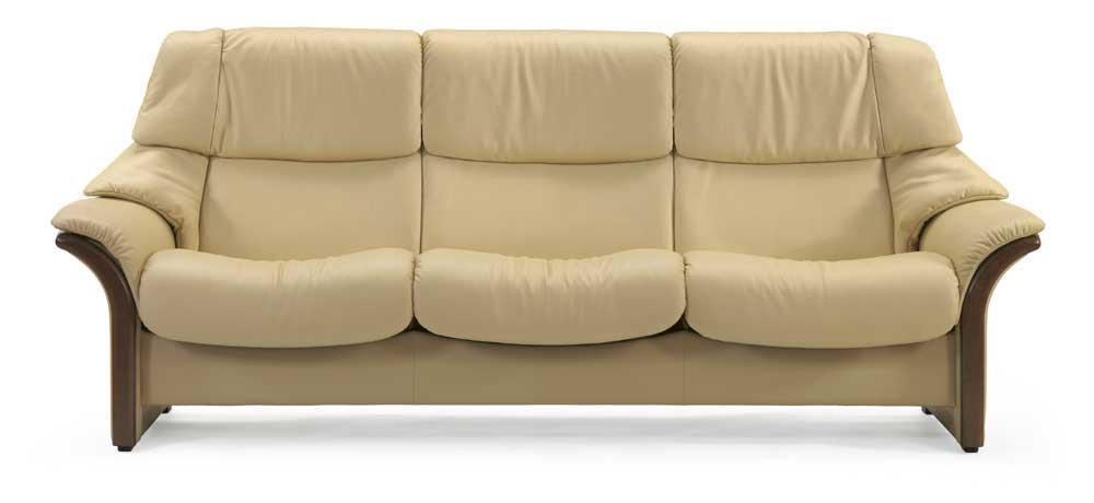 Stressless EldoradoHigh Back 3 Seater Reclining Sofa ...