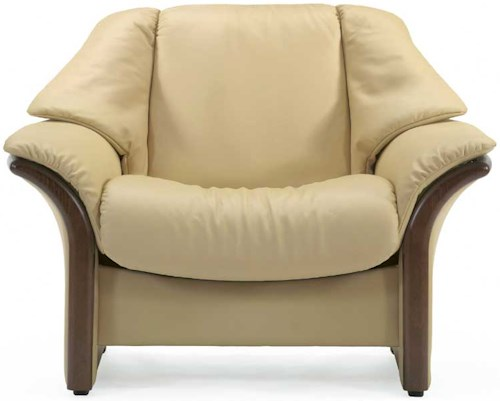 Stressless Eldorado Low-Back Reclining Chair with Arms