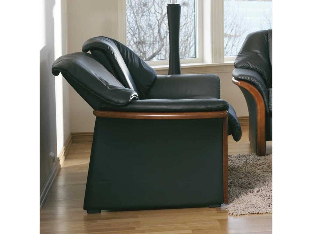 Stressless EldoradoLow-Back 2-Seater Reclining Loveseat