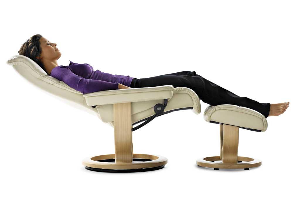 Wonderful ... Stressless SunriseLarge Chair U0026 Ottoman With Classic Base