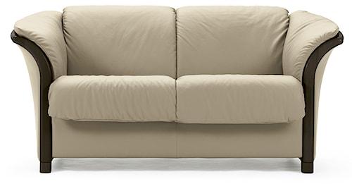 Stressless by Ekornes Manhattan Contemporary 2-Seat Love Seat