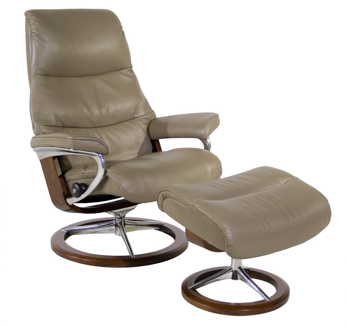 Stressless By Ekornes ViewMedium Stressless Chair U0026 Ottoman ...