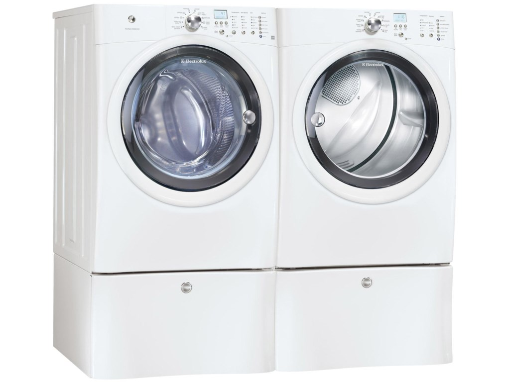 Shown with Coordinating Washer and Optional Storage Pedestals