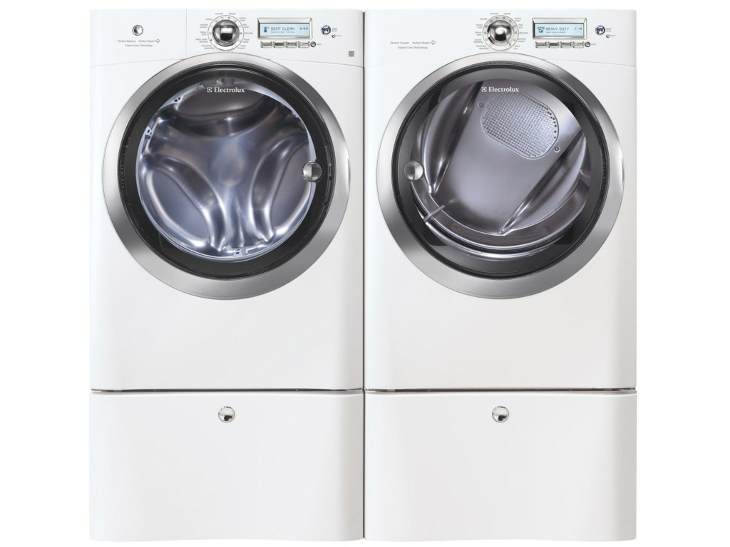 Shown with Washer and Optional Pedestals