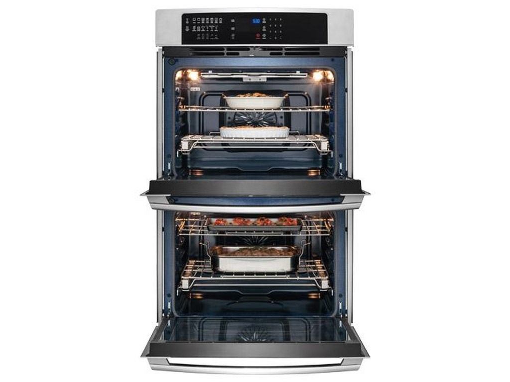 """Electrolux Electric Wall Ovens30"""" Electric Double Wall Oven"""