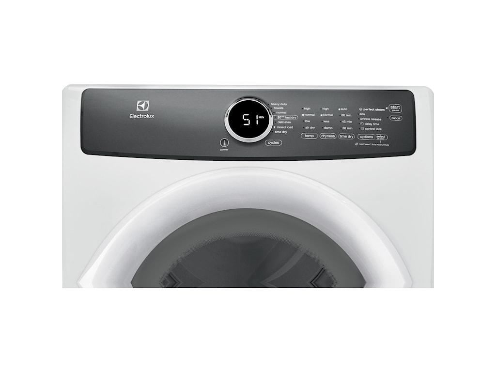 Electrolux Gas DryersFront Load Perfect Steam™ Gas Dryer