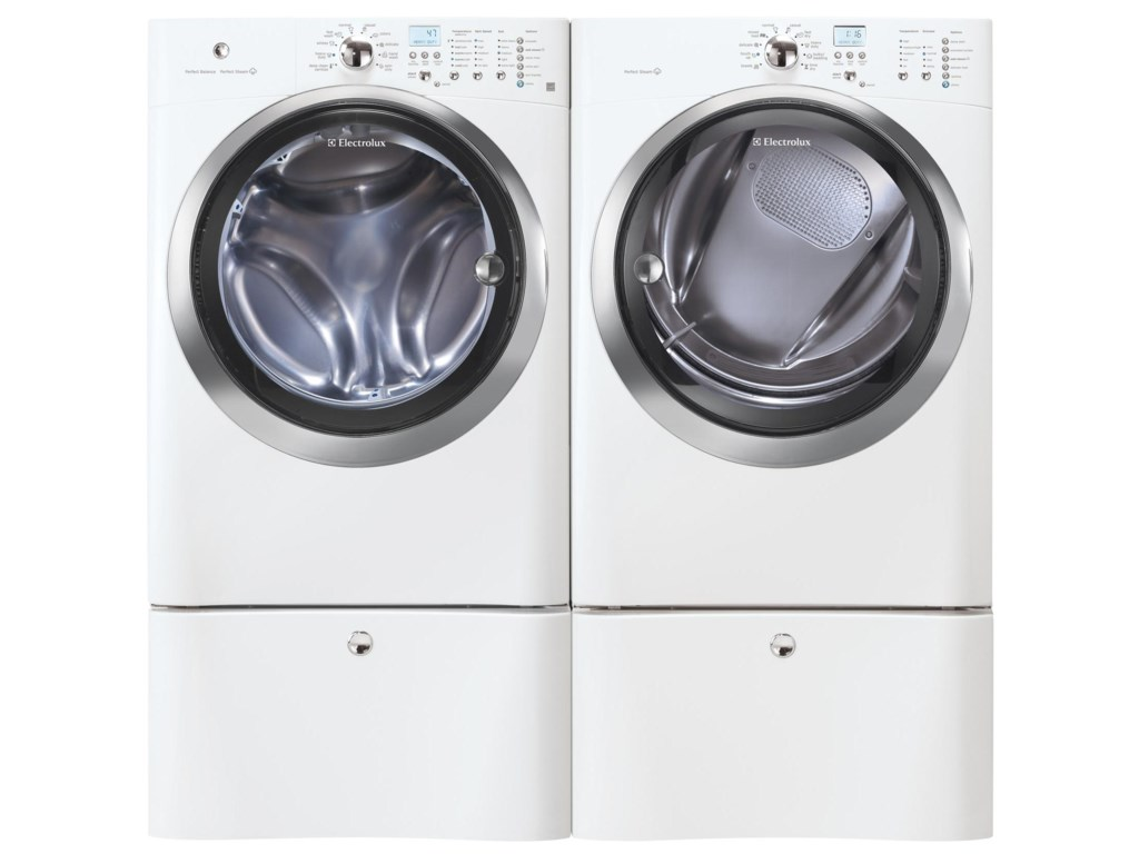 Shown with Washer and Optional Storage Pedestals