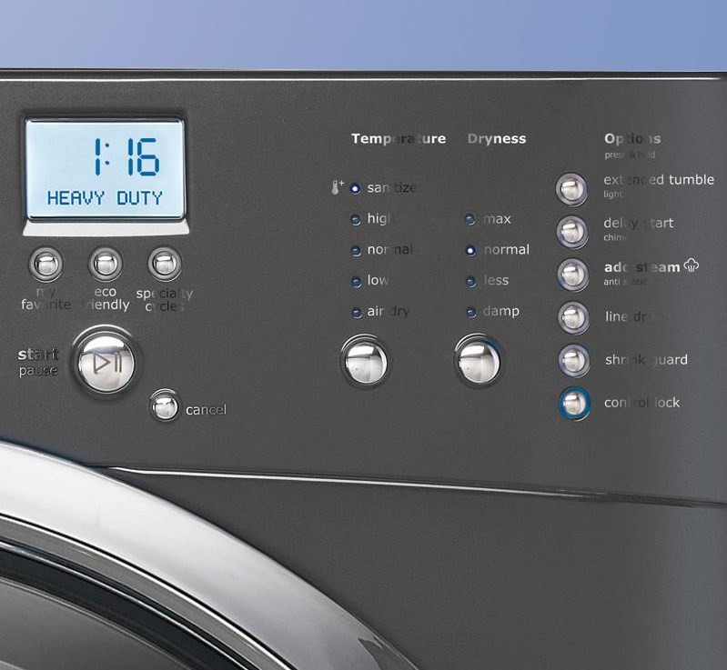 Simple-to-Use Electronic IQ-Touch™ Controls