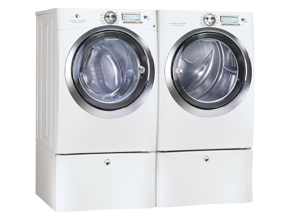 Shown with Washing Machine and Optional Storage Pedestals