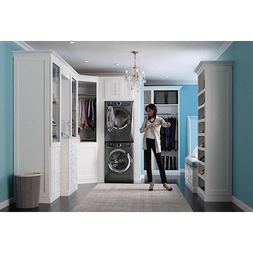 Electrolux Washer & Dryer Sets 4.4' Steam Washer & 8' Steam Dryer