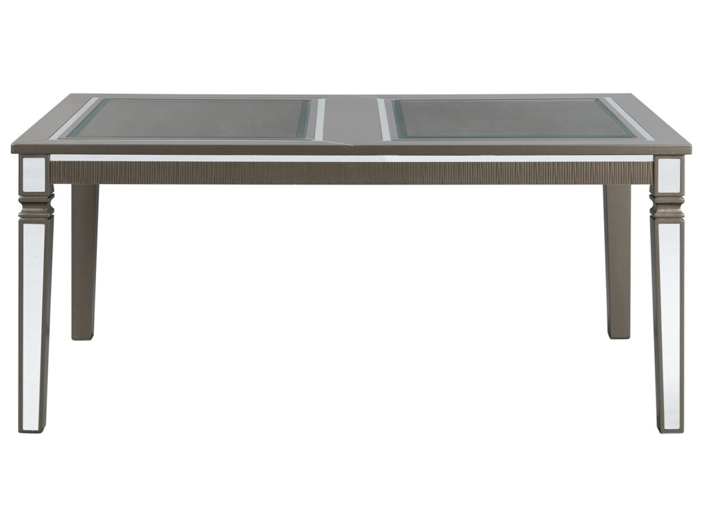 Elements International 14.5Standard Height Rectangle Dining Table