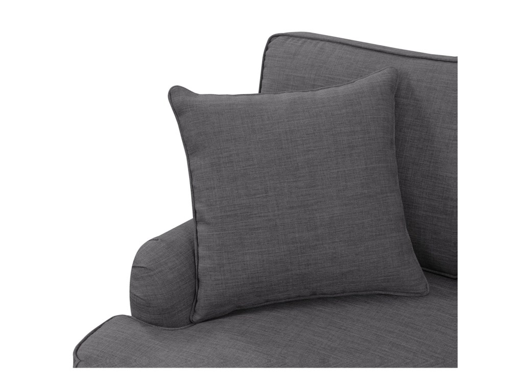 Elements International AbbyLoveseat w/ Pillows