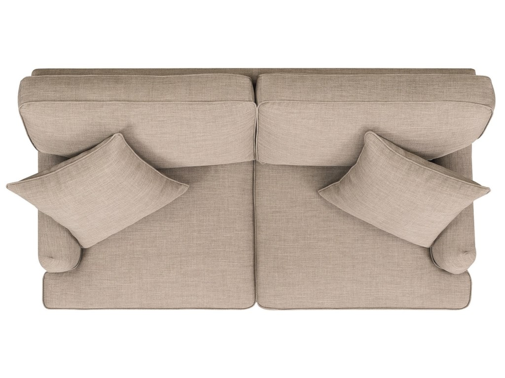 Elements International AbbyLoveseat w/ Pillows