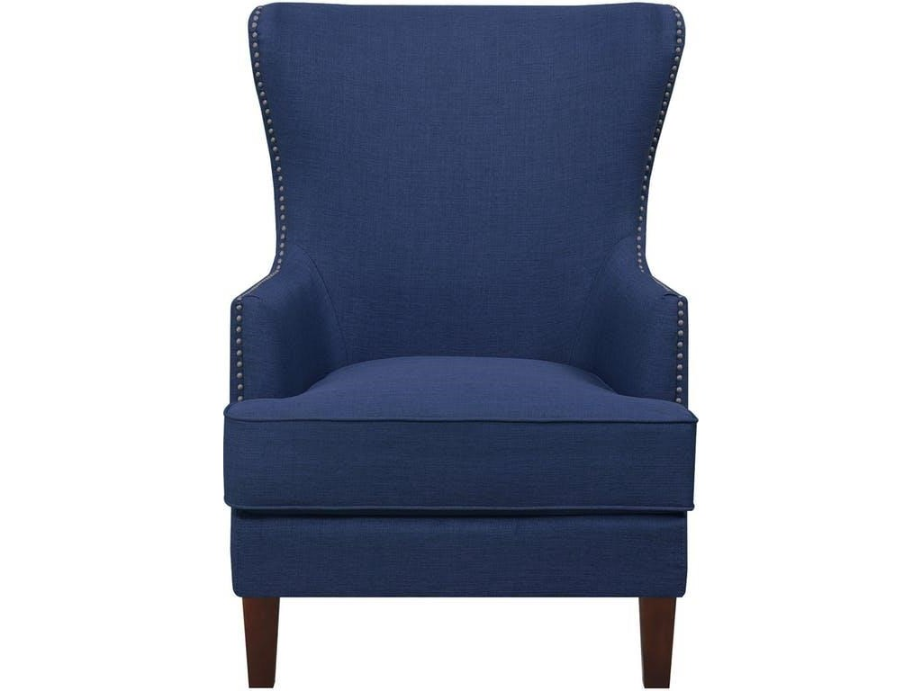 Elements International Accent ChairsCody Blue Accent Chair