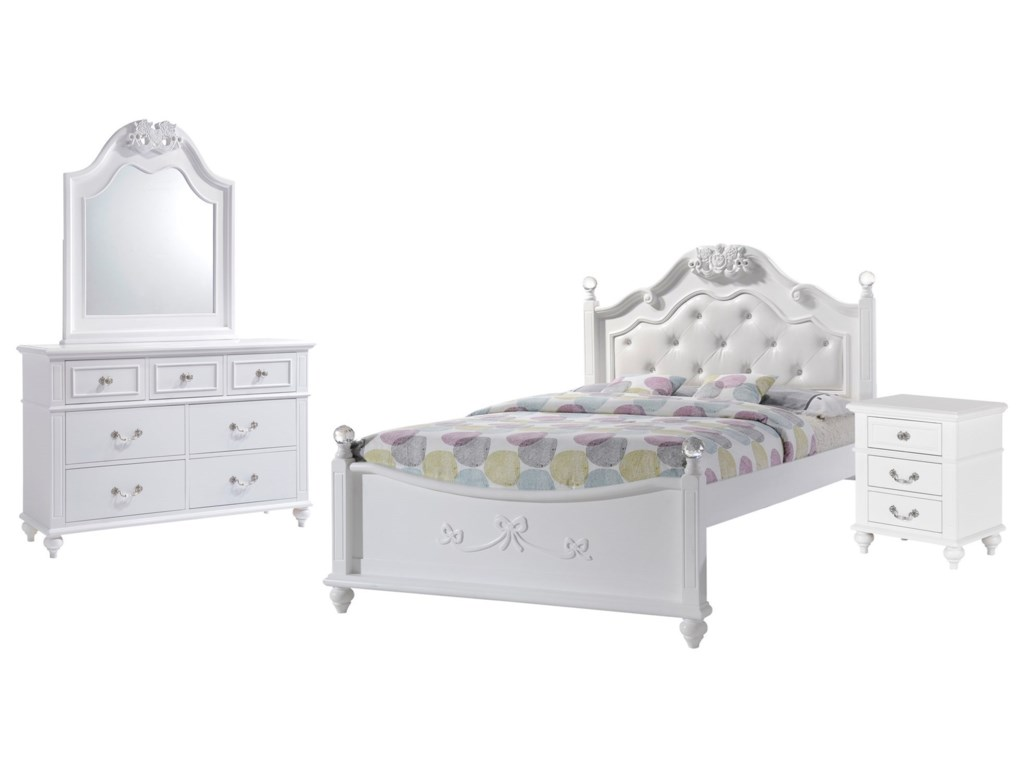 Elements International AlanaBedroom Set