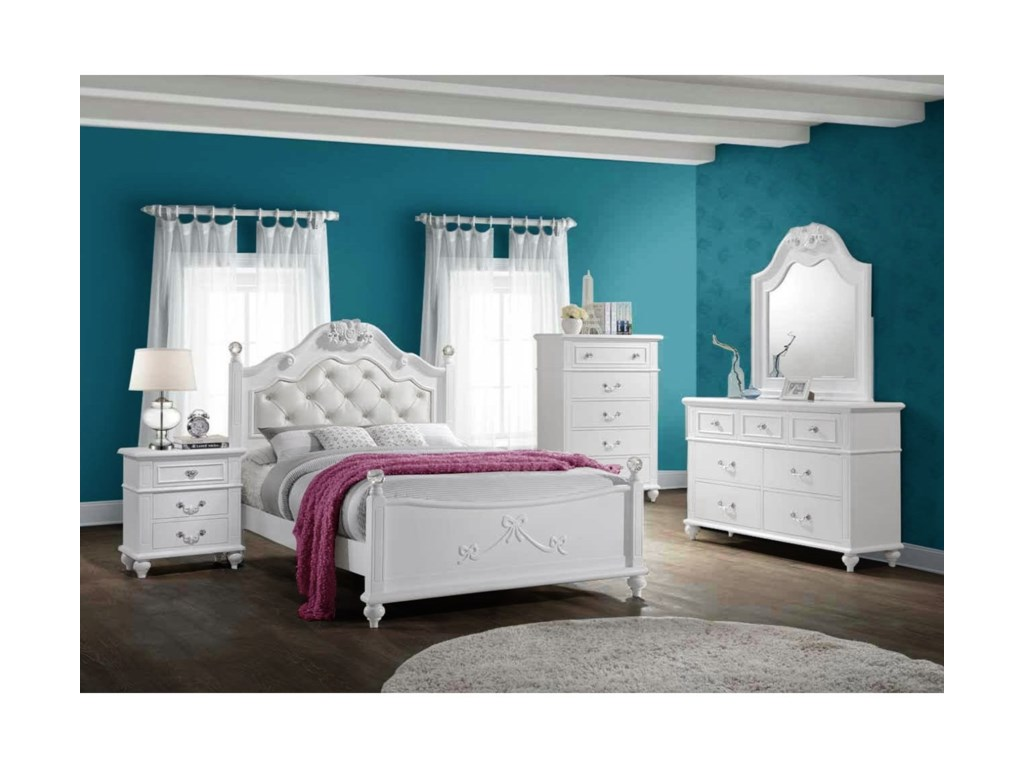 Elements AlanaFull 5-Piece Bedroom Set