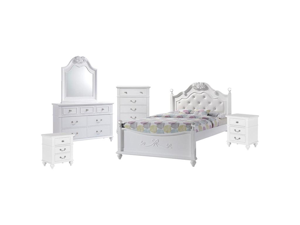 Elements AlanaFull 6-Piece Bedroom Set