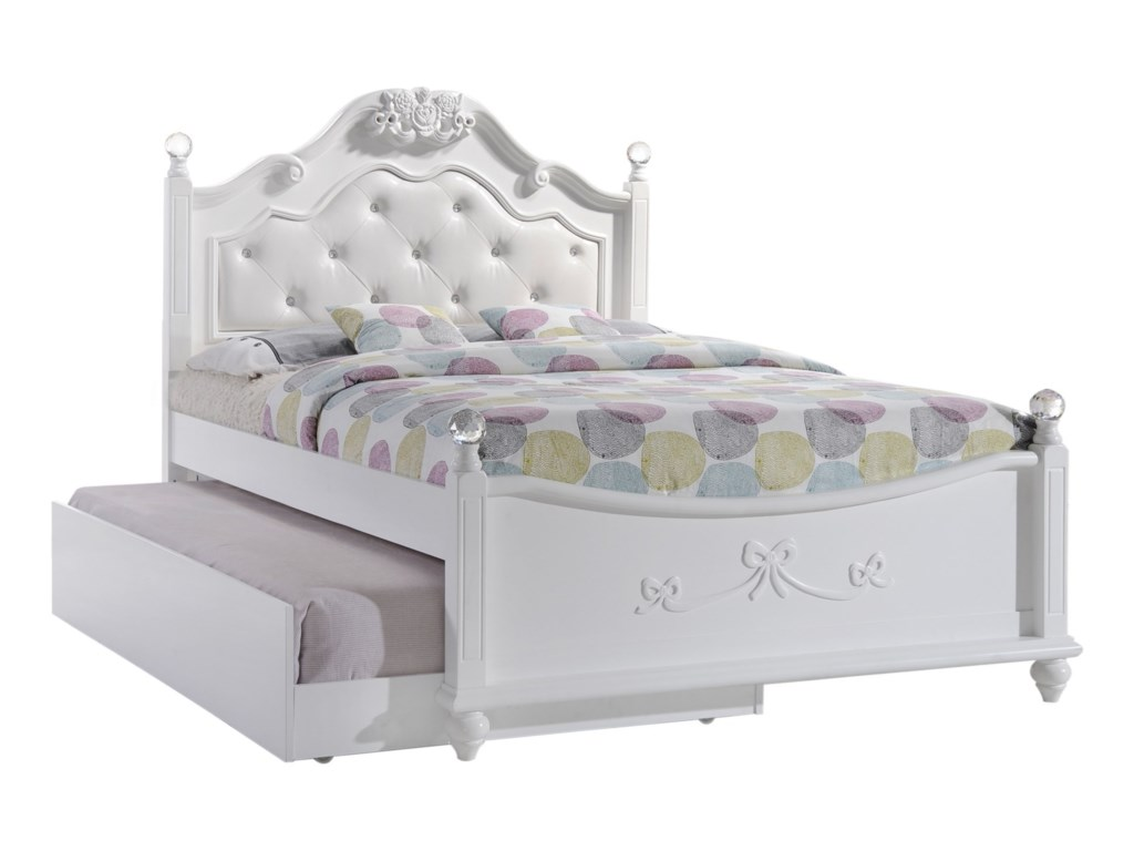Elements AlanaFull Platform Bed w/ Storage Trundle