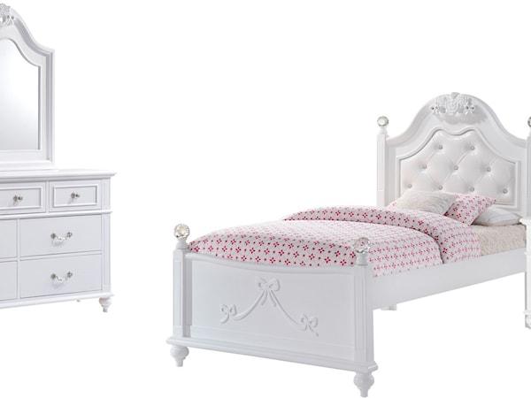 Twin 4-Piece Bedroom Set