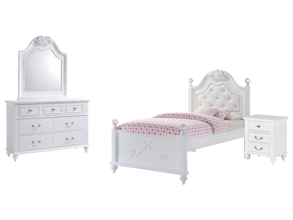 Elements AlanaTwin 4-Piece Bedroom Set