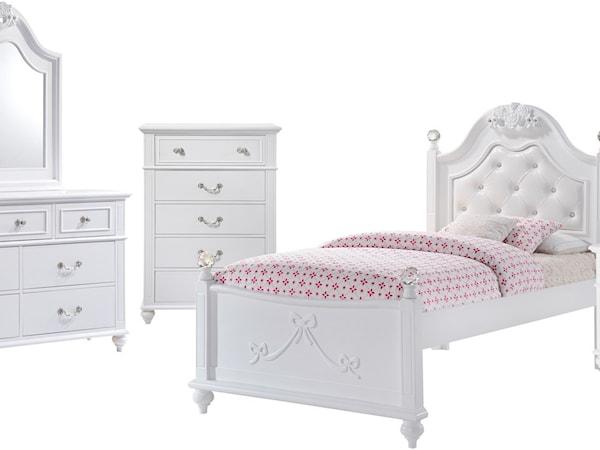 Twin 5-Piece Bedroom Set