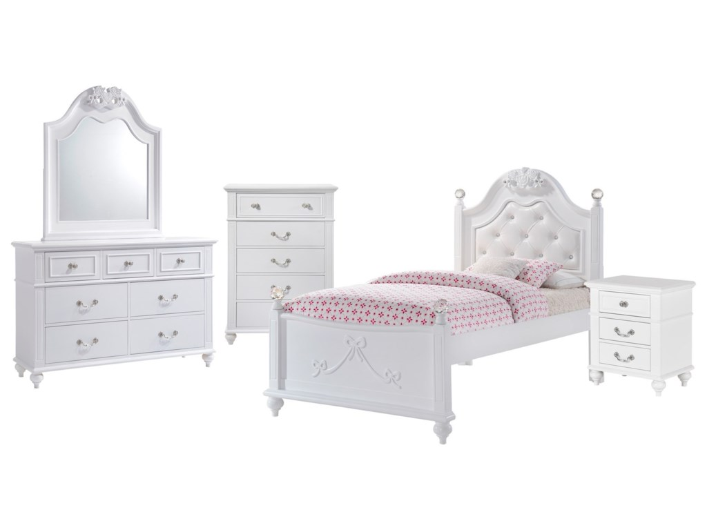 Elements AlanaTwin 5-Piece Bedroom Set