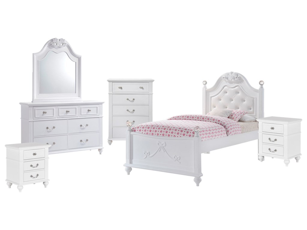 Elements AlanaTwin 6-Piece Bedroom Set