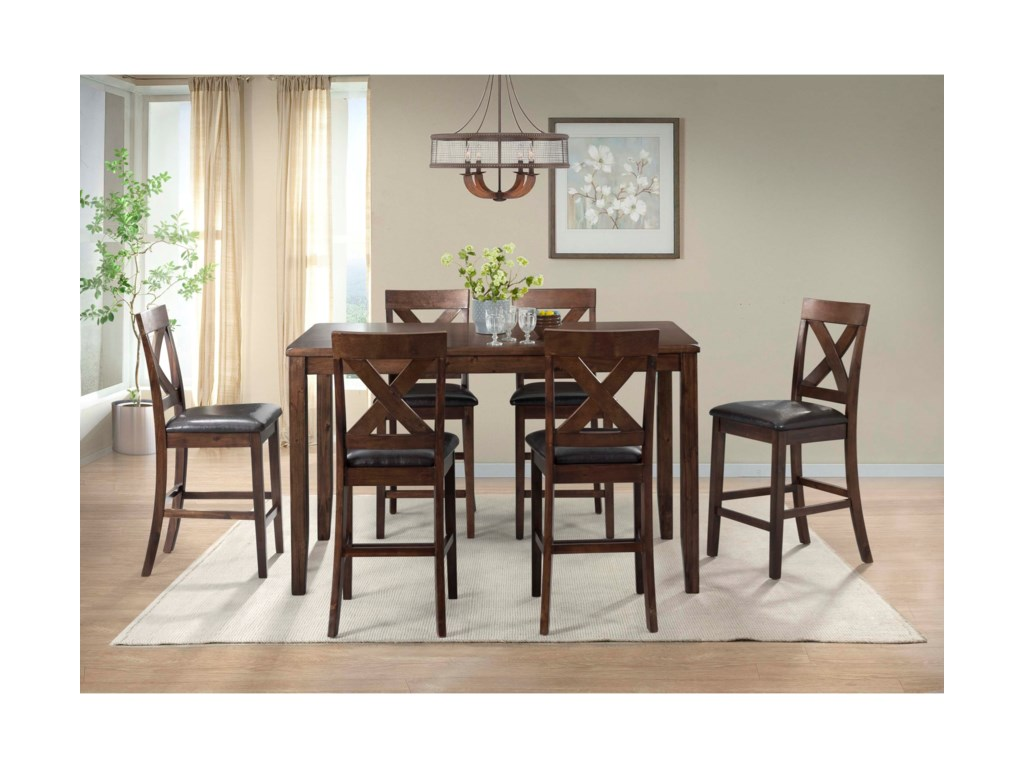 Elements Alex7-Piece Dining Set