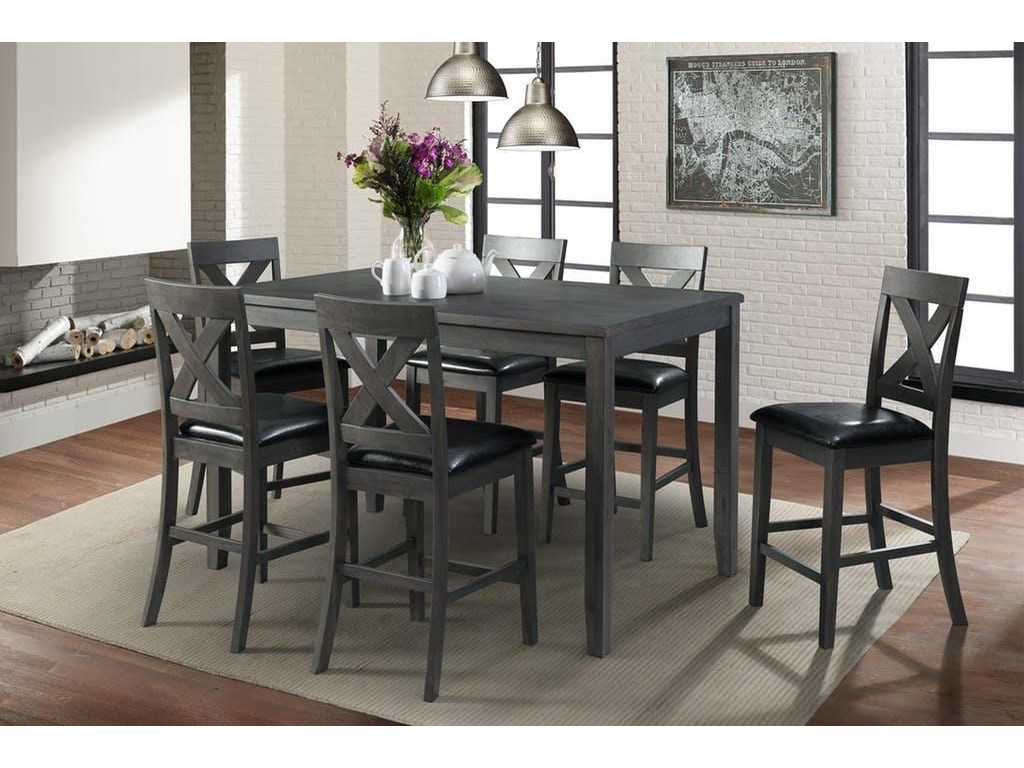 Elements Alex Gray 7 Pc Dining Group