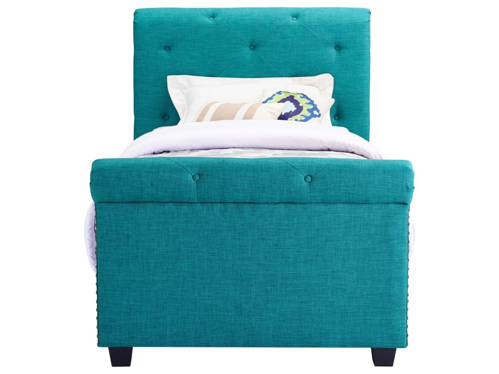 Elements AllieYouth Twin Upholstered Bed