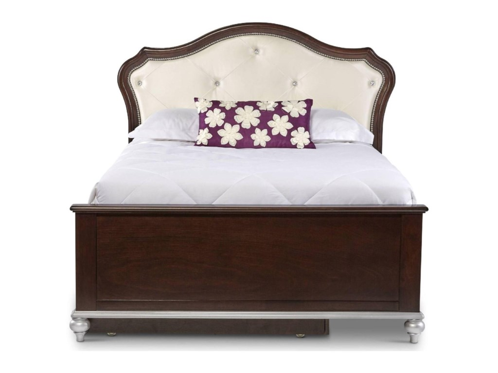 Elements International AllisonTwin Bed with Trundle