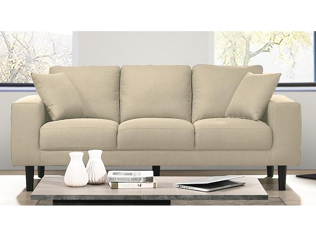 Elements International ApolloContemporary Sofa