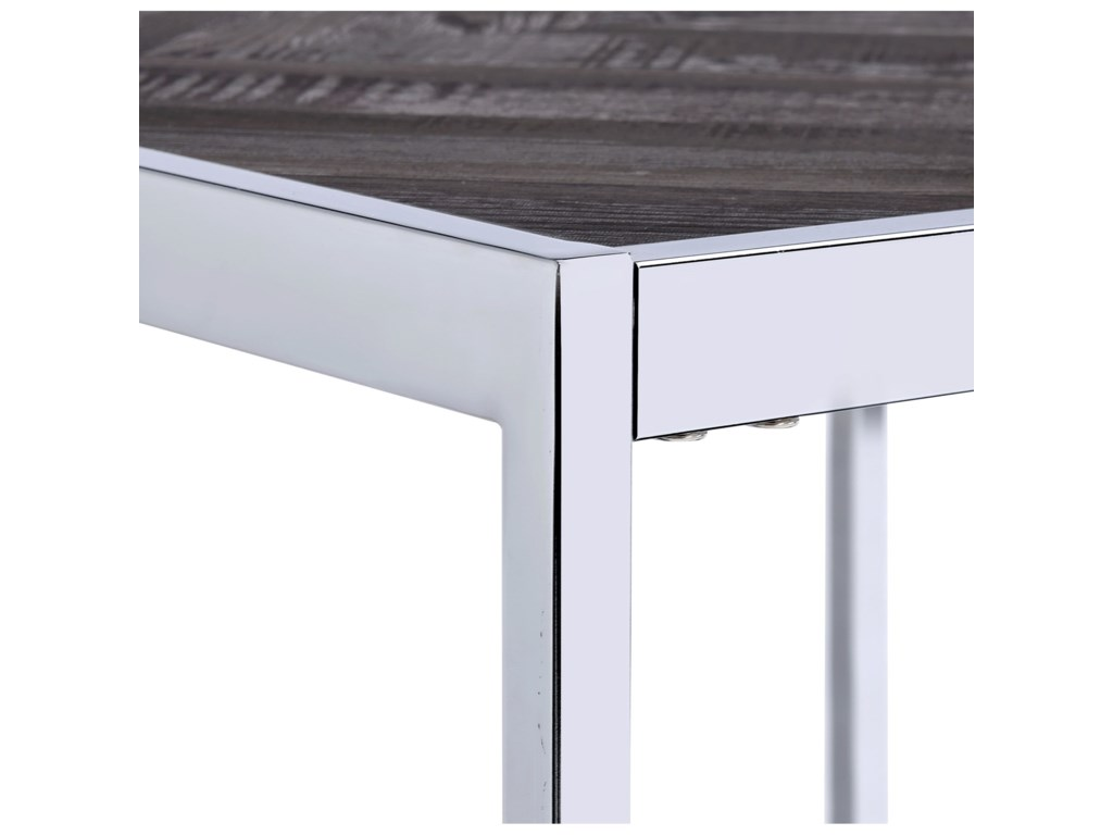 Elements International ArcherSquare End Table
