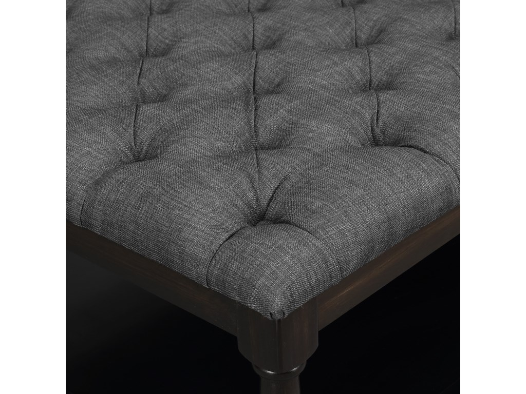 Elements BeaumontTufted Table Ottoman