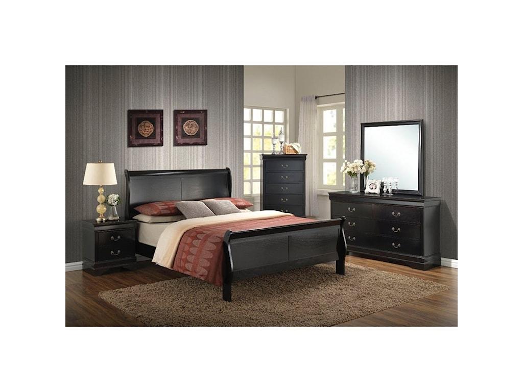 Elements International BelleviewQueen Bedroom Group