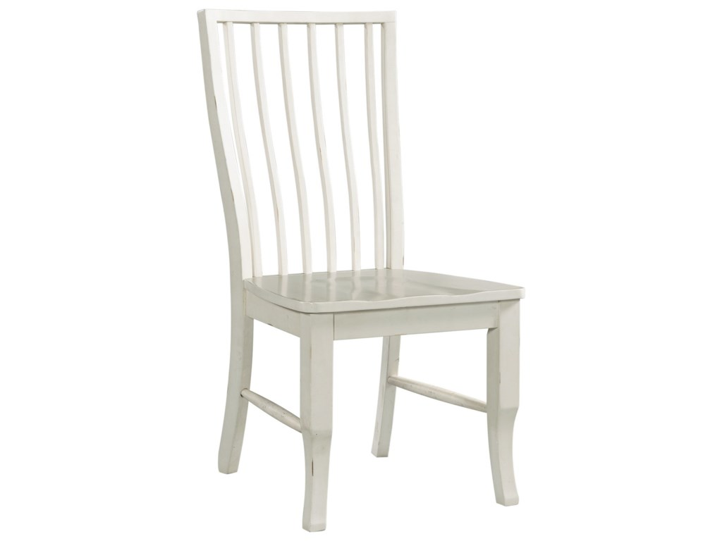 Elements Bristol BaySlat Back Side Chair