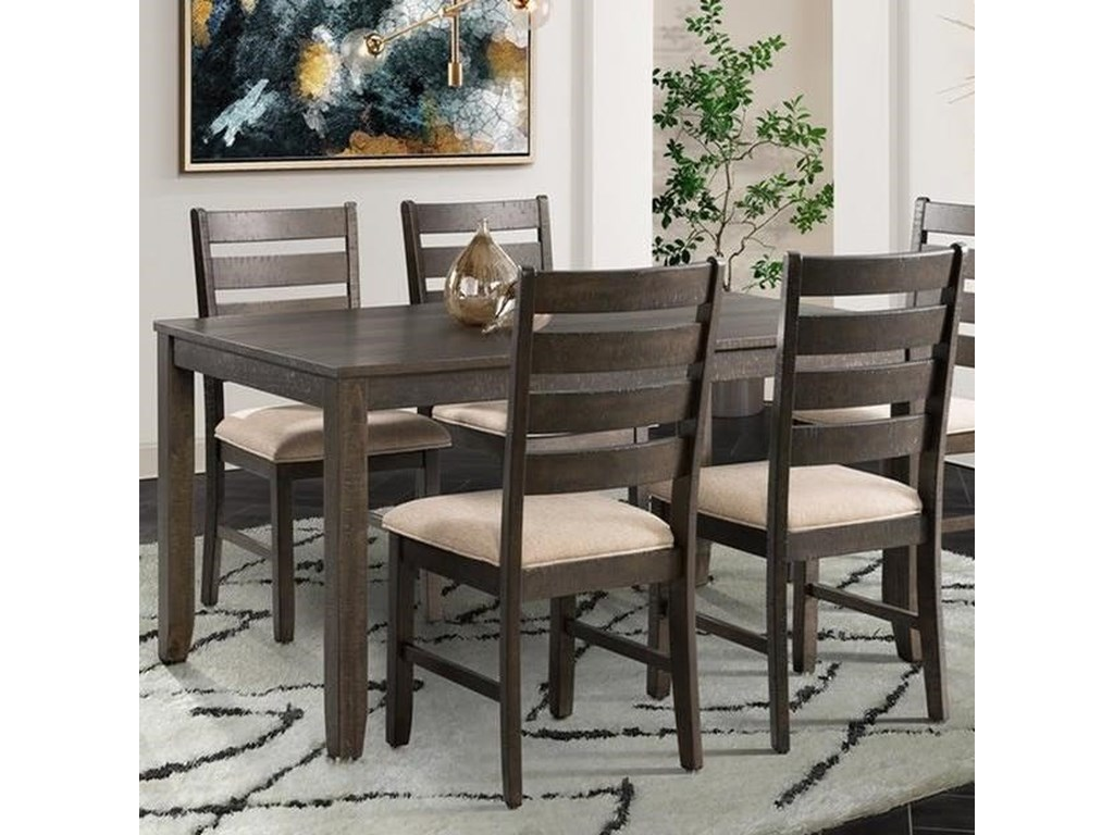 Elements International Brock5-Piece Dining Set