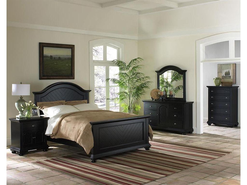 Elements International Brook Queen Bedroom Group