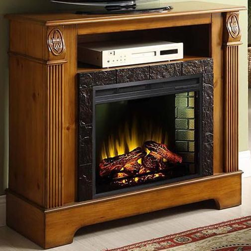 Elements International Bryant Fireplace with Pilaster Details ...