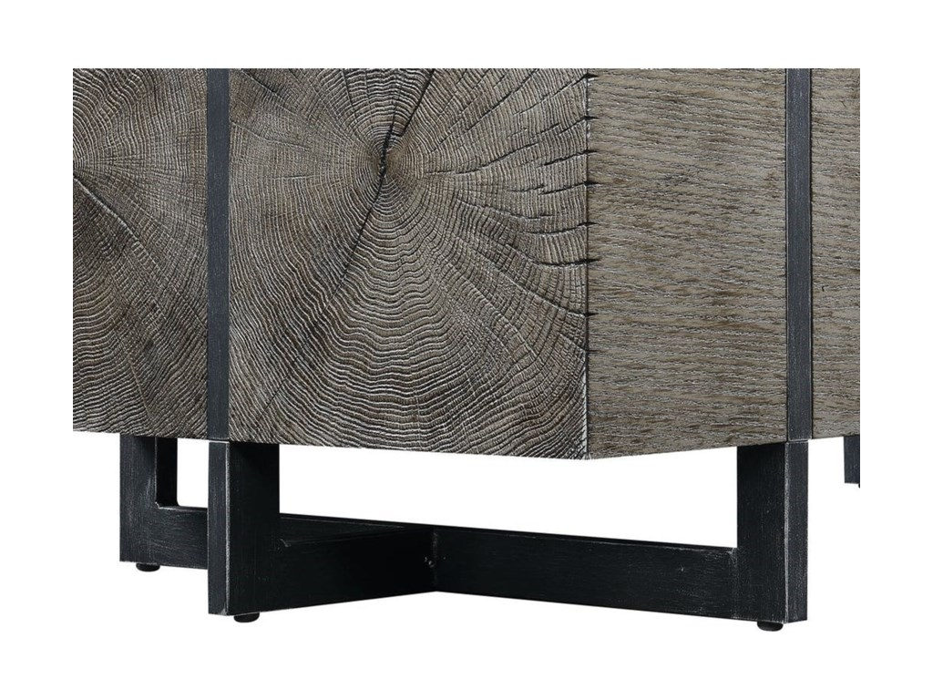 Elements International BrysonEnd Table